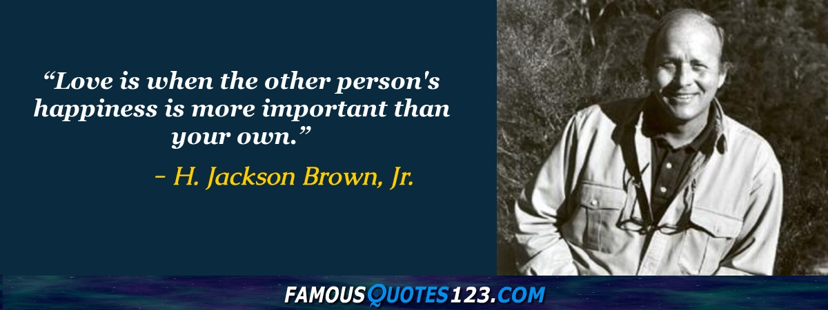 H. Jackson Brown, Jr.