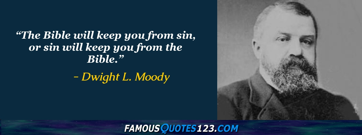 Dl Moody Quotes Impressive Dwight L Moody Quotes Famous Quotations By Dwight L Moody
