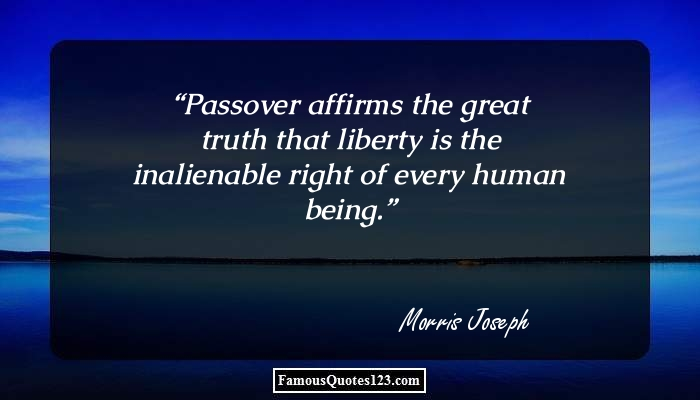 Passover quotes famous pesach quotations and sayings passover quotes m4hsunfo