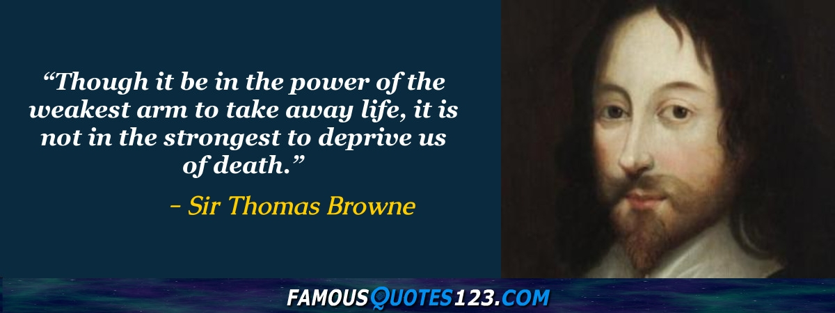 Sir Thomas Browne