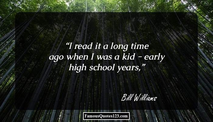 I read it a long time ago when I was a kid - early high school years,