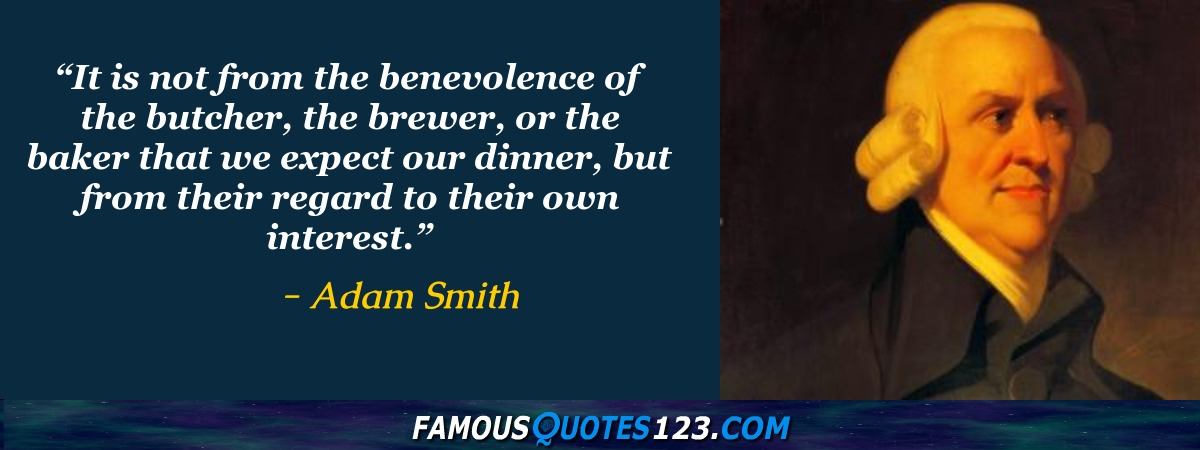 Adam Smith Quotes Inspiration Adam Smith Quotes Famous Quotations By Adam Smith Sayings By