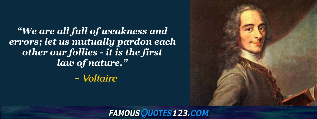 voltaire candide quotes