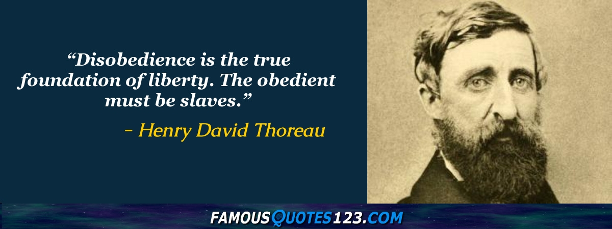 Henry Thoreau Quotes New Henry David Thoreau Quotes Famous Quotations By Henry David