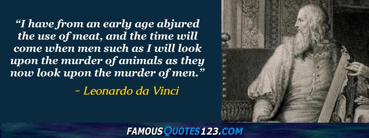 Leonardo Da Vinci Quotes Famous Quotations By Leonardo Da Vinci Impressive Da Vinci Quotes