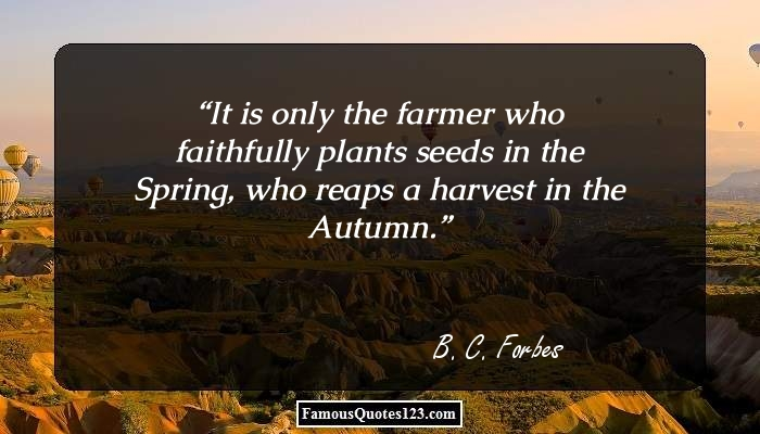 Farming Quotes Extraordinary Farming Quotes & Sayings That Show The Importance Of Farming