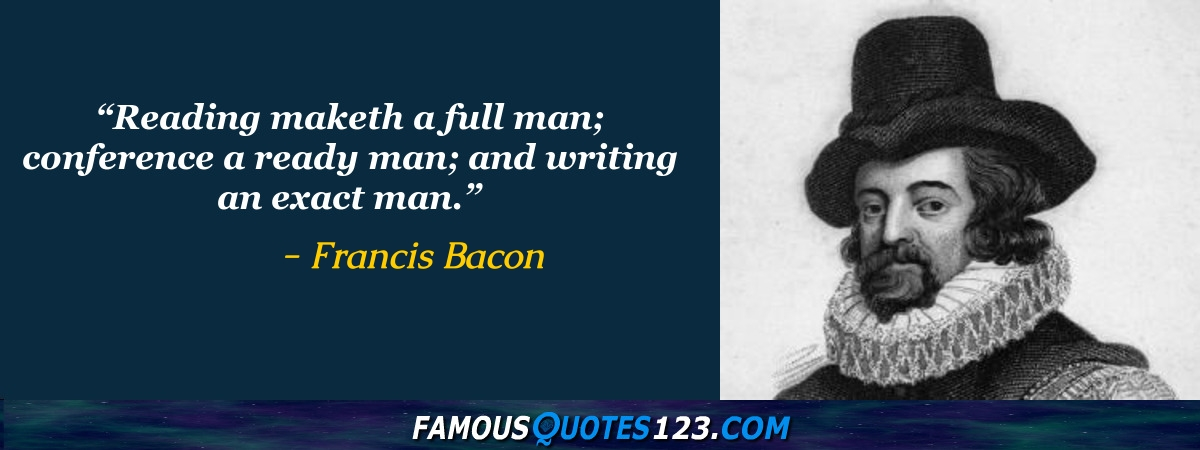 famous essays by francis bacon Explore the life of english artist francis bacon, who was known for his expressive, often disturbing paintings of the human figure, at biographycom.