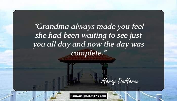 Grandmother Quotes   Famous Grandmother Quotations & Sayings