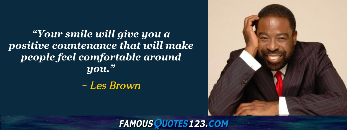 Les Brown Quotes Captivating Les Brown Quotes  Famous Quotationsles Brown  Sayingsles