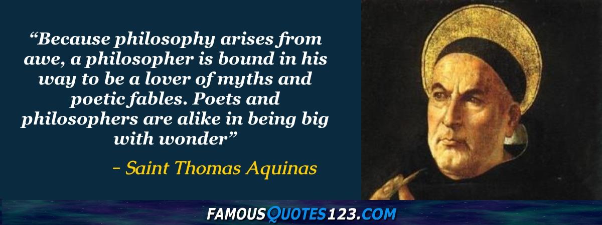 Saint Thomas Aquinas Quotes - Famous Quotations By Saint ...